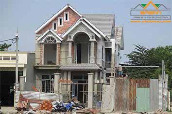 Dịch vụ thi công xây dựng nhà đẹp của Công ty thiết kế xây dựng bazan