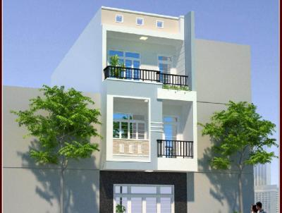 Thiết kế nhà phố đẹp 1 trệt 2 lầu
