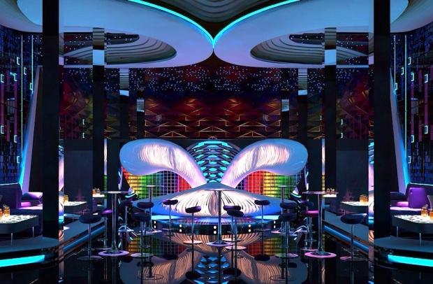Thiết kế quán bar đẹp hiện đại 2017