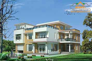 Dịch vụ thiết kế nhà đẹp của Công ty thiết kế xây dựng bazan
