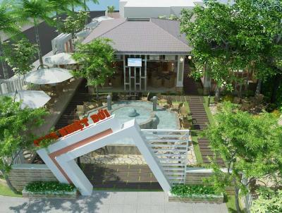 Thiết kế quán cafe sân vườn đẹp 2020