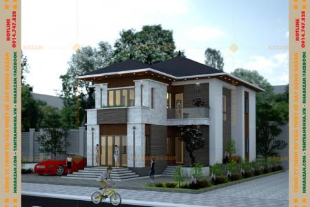 Công Trình Thiết Kế Biệt Thự 2 Tầng Mái Thái Tại Tây Ninh