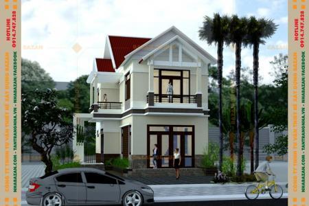 Công Trình Thiết Kế Biệt Thự Mái Thái 2 Tầng Tại Bình Chánh TPHCM