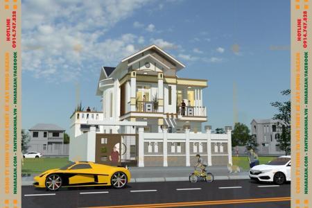 Công Trình Thiết Kế Nhà Mái Thái 2 Tầng Tại Quận 12 TPHCM
