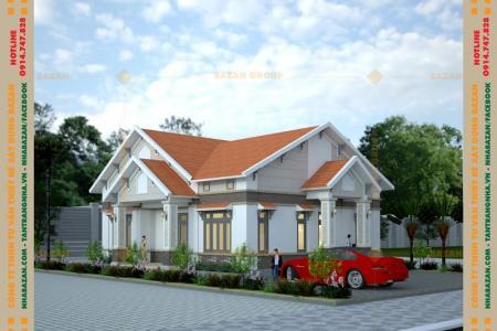 Công Trình Thiết Kế Nhà Vườn Mái Thái 1 Tầng Đẹp Tại Đồng Nai