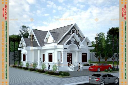 Công Trình Thiết Kế Nhà Vườn Mái Thái 1 Tầng Đẹp Tại Tây Ninh