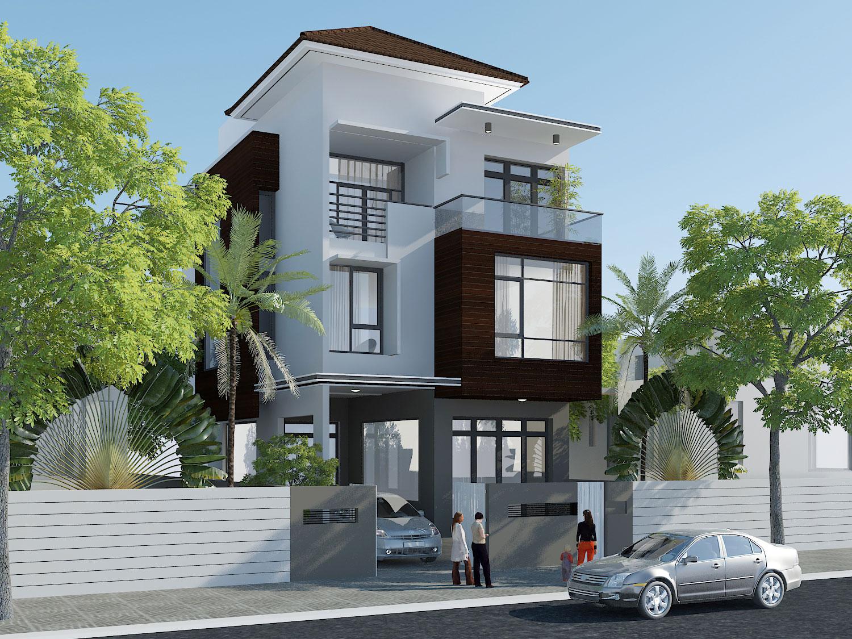 Thiết kế nhà đẹp hiện đại tại tphcm